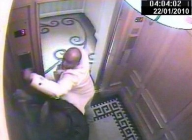 CCTV handout image issued by the Metropolitan Police of one of the attacks.