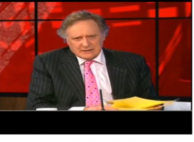 YouTube screengrab of Vincent Browne