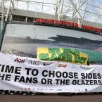 Time to choose sides - but with the massive debt about to be paid - is the battle now over for Manchester United fans?<span class=