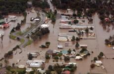 Australian floods claim first victim (Video)