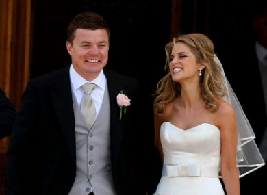 O'Driscoll also speaks of time spent apart from wife Amyin HotPress interview