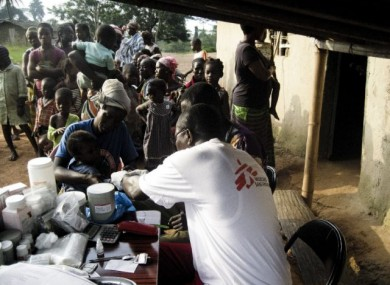 Mobile clinics are treating Ivorian refugees in Liberia