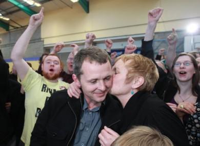 United Left Alliance candidate Richard Boyd Barrett.
