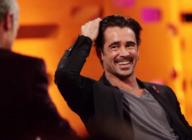 Gratuitous picture of Colin Farrell to illustrate 'sexy Irish accent' story? Sure, why not...