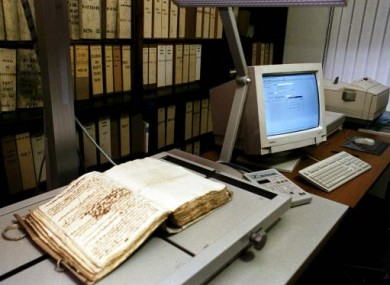 The long-term hope is that all Irish archives will be fully accessible online
