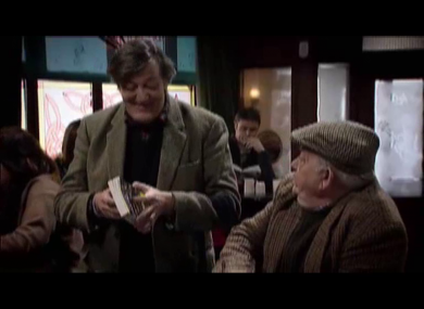 Stephen Fry appeared on Ros na Rún last week