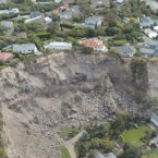 A major landslide in Christchurch, New Zealand caused the earthquake on February 22. Pic: AP/Kyodo
