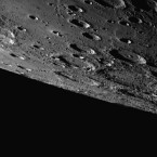 A NASA Messenger probe took this image of the pockmarked southern hemisphere of Mercury. (AP Photo/NASA/Johns Hopkins University Applied Physics Laboratory/Carnegie Institution of Washington)