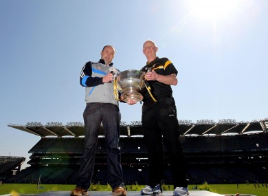 Anthony Daly and Brian Cody meet the press ahead of their league decider this weekend.