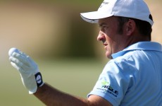Ireland's Damien McGrane sets the pace in South Korea