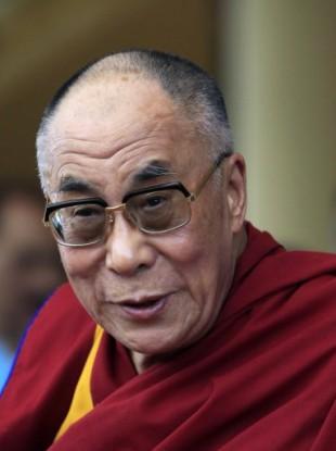 Tibetan spiritual leader the Dalai Lama.