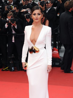 Cheryl Cole arriving at the Premiere of Habemus Papam