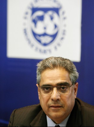 The IMF's Ajai Chopra will lead a meeting to discuss Ireland's situation on Monday