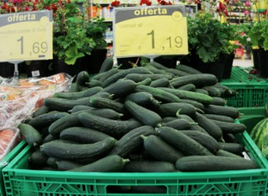 Spanish cucumbers are not the source of the deadly E.coli outbreak, says Germany.