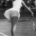 Karol Fageros was banned from the tournament in 1958 for wearing gold lamé shorts under her skirt. The All England Club was looking to avoid another