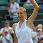 Four years after winning Wimbledon at only 17-years-old, Maria Sharapova apparently got fed up with the fairly formal attire typically found at the All England Club so she decided to kick it up a notch. The tux-esque attire did not affect the rest of the women's field in the 2008 Wimbledon tournament as she was eliminated in only the second round.