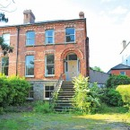 Six-bedroom, semi-detached house in the so-called 'Embassy Belt' of Dublin 4