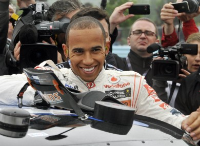 Hamilton has denied he is considering leaving McLaren.