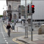 Dame Street, at Parliament Street (2011)<span class=
