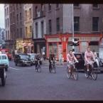Dame Street, at Parliament Street (1961)<span class=