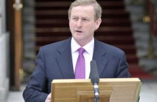 Read: Taoiseach Enda Kenny's 100 days speech