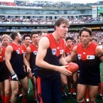 One of the very first GAA players to take part in what was known at the time as the 'Irish Experiment', Synes joined Aussie Rules football aged 18 in 1984, and went on to enjoy a hugely successful career in the sport. Stynes has been chairman of Melbourne football club since 2008.
