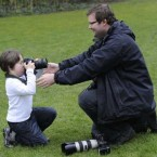 This is photographer Niall Carson, pictured during the launch of World Down Syndrome Day in March. (Picture: Sasko Lazarov/Photocall Ireland)