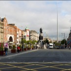 O'Connell Bridge looking towards O'Connell Street (2011)<span class=