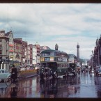 O'Connell Bridge looking towards O'Connell Street (1961)<span class=