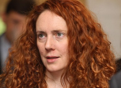 News International chief executive Rebekah Brooks.