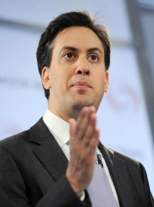 Labour party leader Ed Miliband.