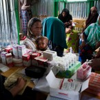 As well as treating children for malnutrition, the Concern health team administer other medicines and support pregnant and lactating mothers with micro-nutrient supplements and health advice. Concern successfully treats 93 per cent of severely malnourished children admitted to their programme within two months.