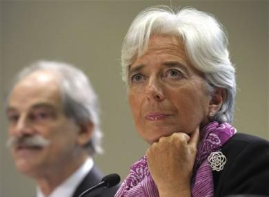 The new International Monetary Fund (IMF) Managing Director Christine Lagarde.