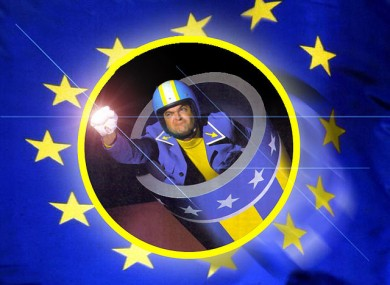 We found this image of someone called 'Euroman', and decided we couldn't leave it out.