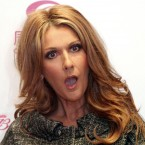 Celine Dion reacts to a journalist's question at a press conference in Shanghai, China, on 11 April, 2008, prior to her concert, after scrapping her impending concert in Beijing because the promoter failed to get the appropriate permission. Pic: AP