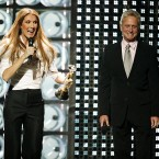 And again the World Music Awards in Las Vegas, with Michael Douglas. Pic: Suzan/EMPICS Entertainment