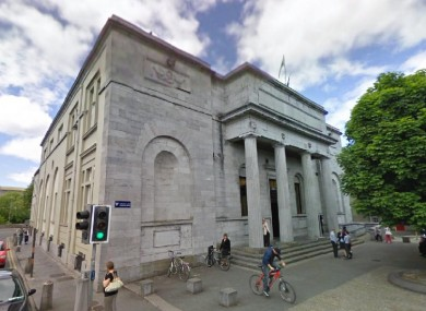 The courthouse in Galway