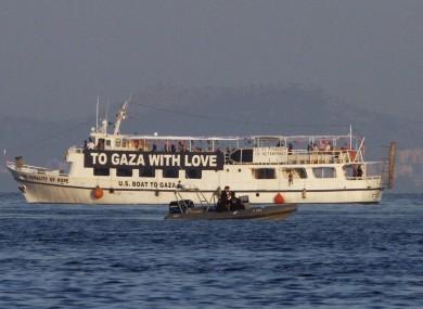 The activist run boat