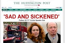Irish figures among bloggers on Huffington Post's new UK edition