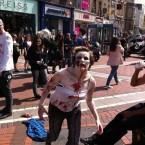 The zombie apocalypse hits Stephen's Green. Pic: @DamianOS3 via Twitter