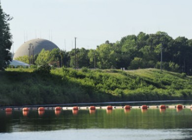The North Anna Nuclear Power Station in Louisa County Va. is shown Tuesday, Aug. 23, 2011.