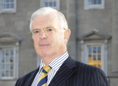 Peter Mathews says he has more business experience than the finance minister