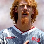 With all the stars and facial hair, he could be Whitlock's marginally cooler, more ginger brother. The current president of the New York Red Bulls, Lalas was the most recognisable member of the USA's 1994 World Cup team.<span class=
