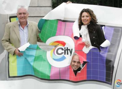 Jimmy Greeley, Lisa Cannon and Ray Shah at the launch of City Channel in 2005.