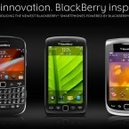 L to R: BlackBerry Bold, BlackBerry Torch 9850/9860, BlackBerry Torch 9810. Image: http://us.blackberry.com/
