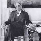 W.B. Yeats before he received the Nobel Prize for Literature in 1923. 