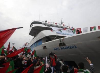 Sunday, Dec. 26, 2010 file photo of the Mavi Marmara.