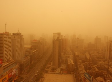 Lanzhou in China is the world's 24th most polluted city