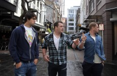 Slideshow: Irish rugby squad take a walk around Auckland