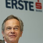 Austrian banks like Erste Bank and Raiffeisen have considerable interests in Eastern European countries like Romania and Hungary, leaving them exposed if Eastern Europe feels the knock on effect of a Greek default. Image: Hans Punz/AP/Press Association Images